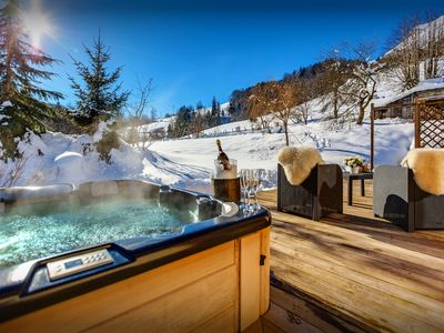 Photo for Enjoy the mountains and lake from this delightful 4* chalet - OVO Network