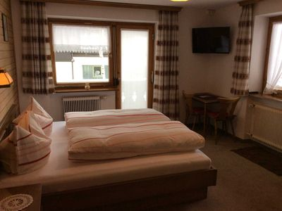 Photo for Double Room 1 with Balcony - Haus Brunhilde