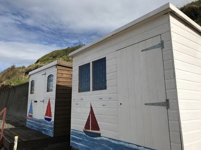 Egryn Bach holidays include exclusive use of Family Beach Hut on Nefyn  Beach
