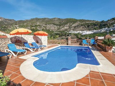 Photo for Country villa w/ mountain views + pool amid winding roads, close to pretty village