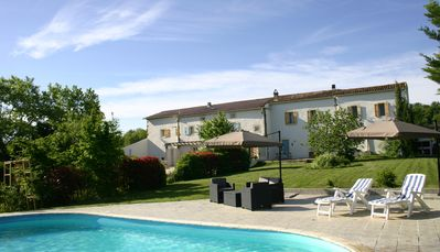 Photo for Calmont Where The Mountains Meet The Sea, 3 Gites With Pool And Stunning Views