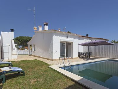 Photo for <![CDATA[Villa with private pool in a quiet place. The house has 72m2 and has 2 bedrooms, 1 bathro]]>
