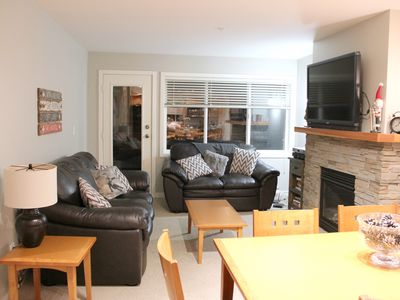 Photo for Big White - Ski In/Out - 3 Bdrm townhouse; Private Hot Tub & Mtn Views