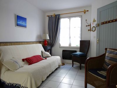 Photo for St. Clair Apartment with terrace in the heart of St Martin de Ré
