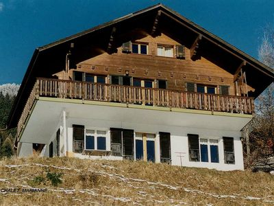 Photo for Chalet in a sunny location with great views of the mountains
