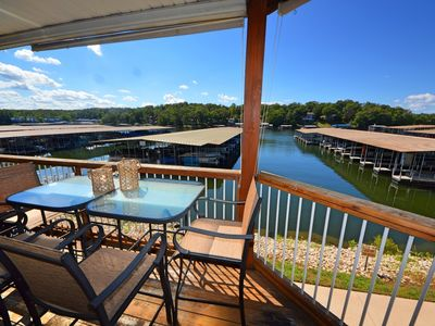 Photo for Comfy Ledges Condo--quiet cove, slip & Wifi included -  7th night free!