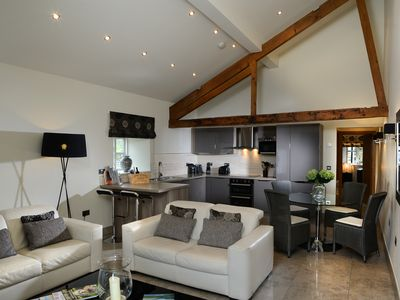 Photo for Stylish barn conversion where The Lake District meets The Yorkshire Dales