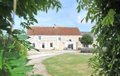 Photo for Large Gite La Champeigne for 15 people with Heated Outdoor Pool ***