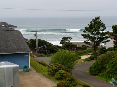 Photo for Beautiful oceanviews only moments from the beach at Sullishak in Depoe Bay!