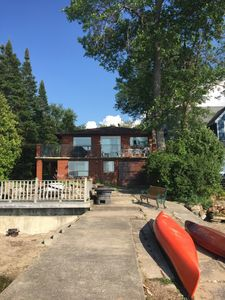 Photo for Summer Lakefront cottage on beautiful Southern Georgian Bay