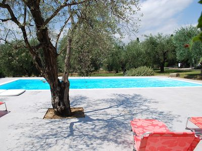 Photo for Fantastic, large property, gorgeous garden (7,500 m2) & pool area, near Valbonne