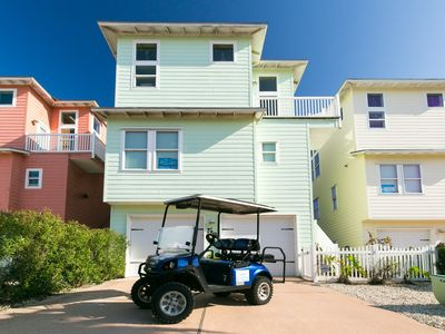 Photo for Cowabungalow: PRIVATE POOL! *Free Golf Cart, Elevator, Close to Beach
