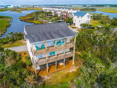 Photo for Under the Sun: 4 BR / 3 BA house in Surf City, Sleeps 9 - sound and water views
