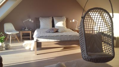 Photo for Charming guest room for 2 persons La Belle Relax - 500 m from the sea