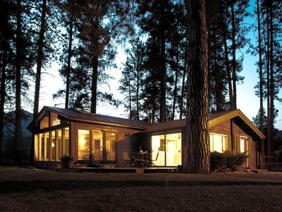 Photo for The Perfect Trout Fishing Cabin on the Clark Fork River