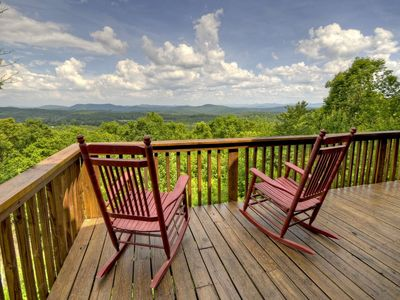 Photo for Amazing Panoramic Views for Miles! Find your Place in this Mountain Retreat.