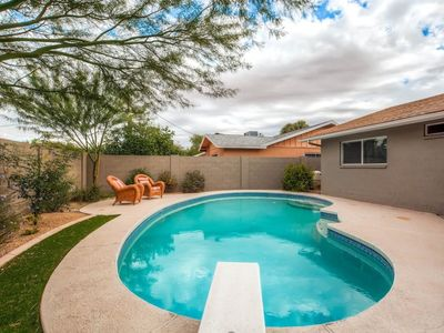 Photo for Old Town Scottsdale House! HEATED POOL! Sleeps 12!