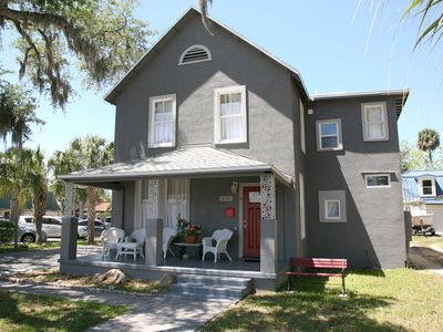 """Photo for """"NSB Uptown- Be Happy"""" Beautiful turn of the century home in the heart of downtown New Smyrna Beach."""