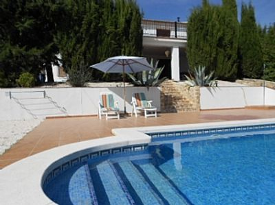 Photo for Beautifully Designed Villa w/Private Pool, Panoramic Views Of Countryside