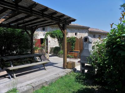 Photo for Charming cottage between Ardeche and Cévennes on the edge of Cèze.