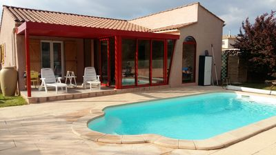 Photo for Holiday house with private pool & heated