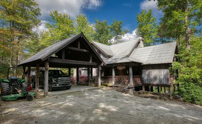 Photo for A Welcome Summer Retreat - 18+ Acres, Fishing, Firepit, Pavilion, and More!