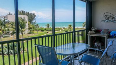 Photo for Loggerhead Cay #183 Beachview 2 bedroom, 2 bath condo, sleeps 6, pool and tennis