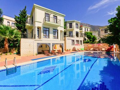 Photo for Villa Arykandos: Swimming Pool, Walk to Beach, A/C, WiFi, Car Not Required