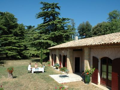 Photo for 2BR Mas Vacation Rental in St Quentin la Poterie, Languedoc-Roussillon