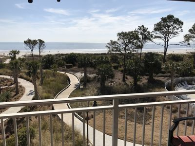 Photo for Ocean front with awesome beach views!