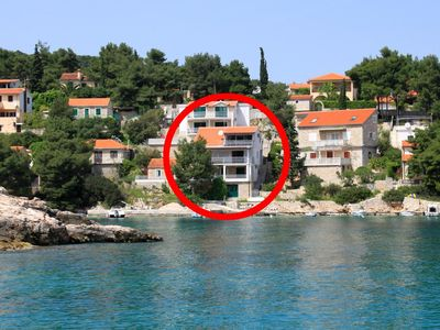 Photo for Apartment in Basina (Hvar), capacity 2+2