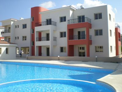 Photo for Luxury Cyprus apartment FREE WiFi FREE cableTV FREE air Con