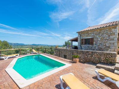 Photo for SA GARRIGA DE CAN BARRATOT - Villa with private pool in SELVA.