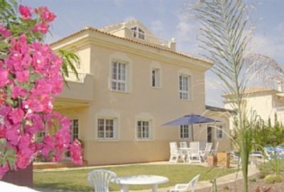 Photo for A  luxury 6 bed detached villa, private gardens& heated pool