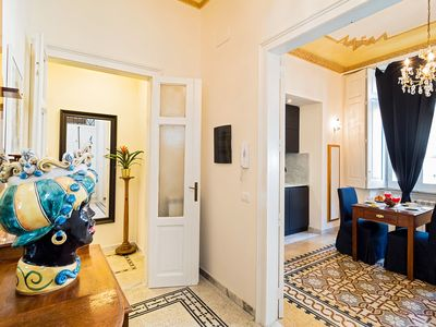 Photo for Comfortable apartment in the center of the baroque Noto