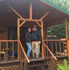 Photo for Kenai River Log Cabin III