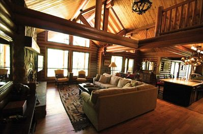 Marvelous Newer Luxury Solid Log Cabin On Secluded 10 Acres In Northern Az Happy Jack Beatyapartments Chair Design Images Beatyapartmentscom