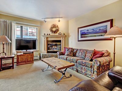 Photo for Charming 2Br Steps to Snow-capped Adventures + Main St