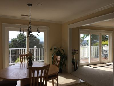 Photo for Ideal Santa Barbara Location With Tree-Top Views-Great For Families