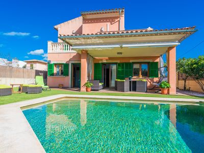 Photo for SES PASADORES - Villa with private pool in Porreras.