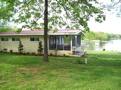 Photo for Old Hickory Lake's Moonlit Bay Honeymoon Cabin - 25 miles from Nashville