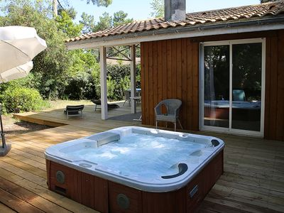 Photo for Very nice house 2 bedrooms with jacuzzi in Cap Ferret for rent all year round