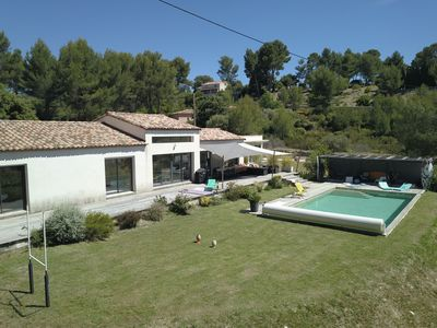 Photo for Magnificent pool villa at Castellet near sea and F1 circuit