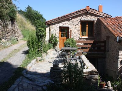 Photo for seasonal rental countryside 29 km lyon yellow cottage