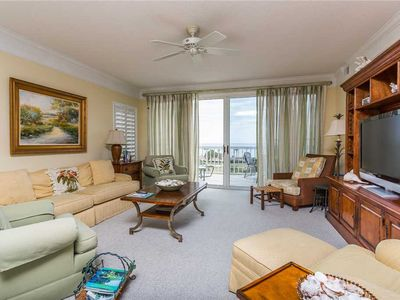 Photo for Relax at Beachfront Condominium, Plenty of Room for Multiple Families!