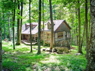 Photo for Cabin at Wintergreen, in the  Va.Mt.Resort/Lux.Vacation Rental