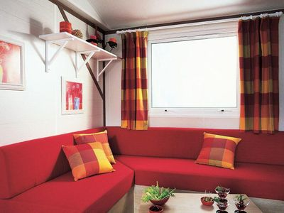 Photo for Camping Kerzerho **** - Mobil home TITANIA 3 rooms 4/6 people