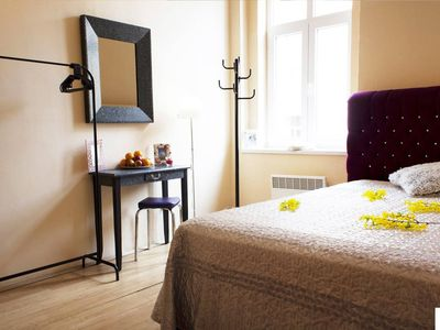Photo for Comfortable Serviced Apartment in Central Prague for two - One Bedroom Apartment, Sleeps 2