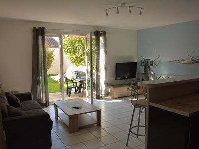 Photo for T2 with spacious garden closed garage and individual parking