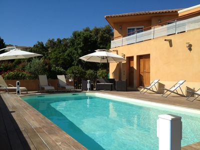 Photo for 4BR Villa Vacation Rental in saint lucie de porto vecchio, Corse
